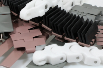 Innovative and flexible chain solutions for all applications and industries. Danish design excellence incorporating flexibility, strength, wear resistance and hygienic properties. Available in Plastic and Steel.