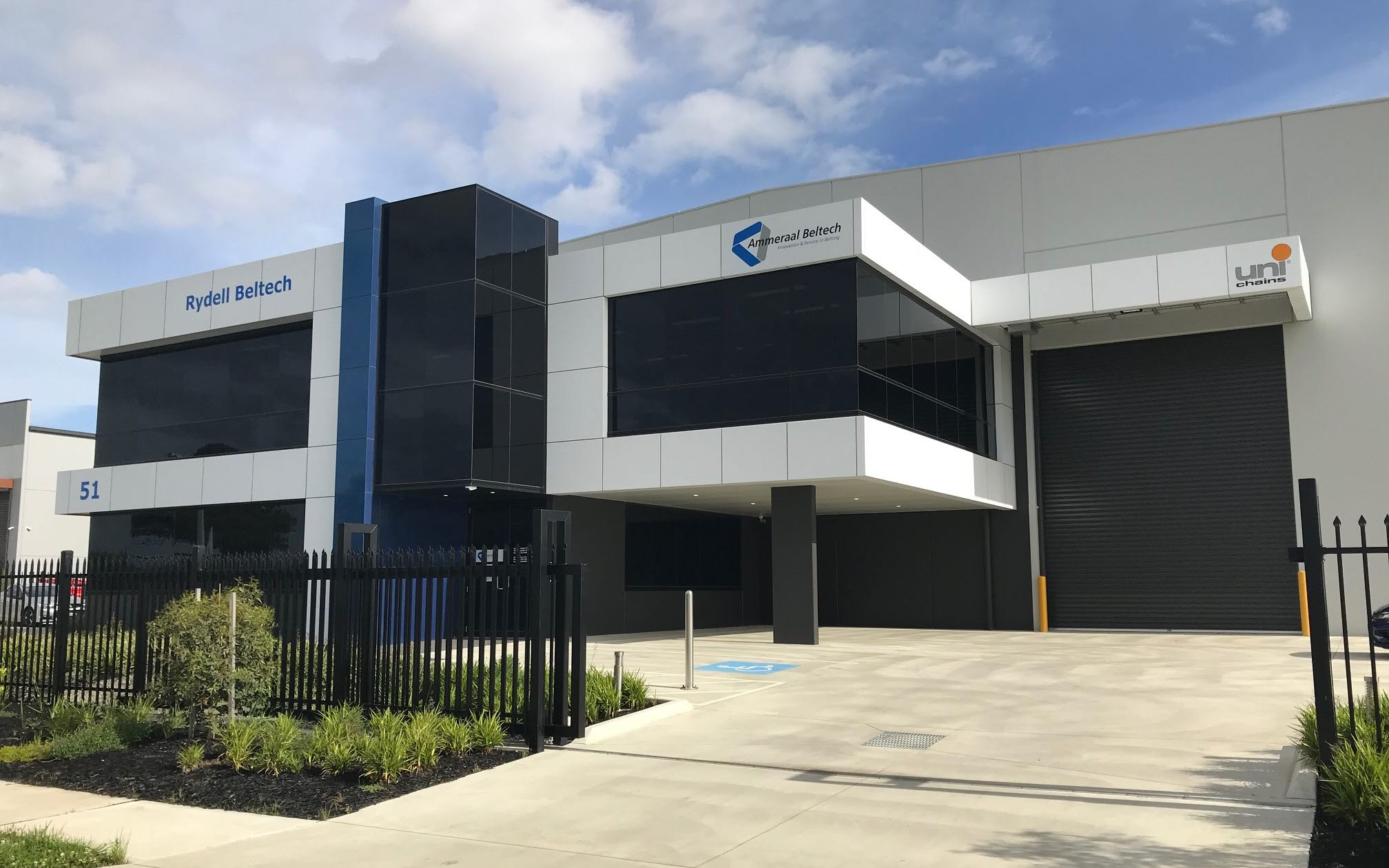 Ammeraal Beltech Australia (a.k.a. Rydell Beltech) - HQ and Administration