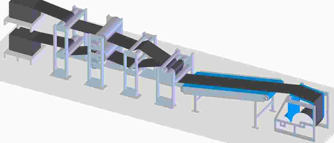 This is a mechanical process by which multiple rubber layers are pressed in a multi-roll calendar towards one homogeneous rubber layer. An alternative is rollerhead equipment. The rubber compound plasticised in the extruder is conveyed via a wide extrusion die directly into the roll nip of a two-roll calender.